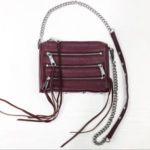 Rebecca Minkoff 3 Zip Moto Crossbody Bag